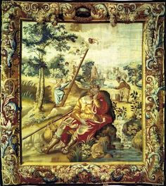 Wawel Cathedral tapestry, mid 16th century