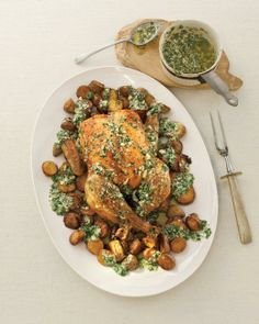 Lemon, Parsley, and Parmesan Plus Chicken and Potatoes Recipe