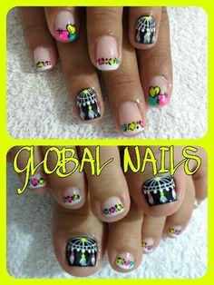 Manicure Y Pedicure, Mani Pedi, Amazing Nails, Fun Nails, Nail Designs, Polish, Nail Art, Beauty, Enamels