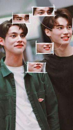 Wallpaper Tumblr Lockscreen, Bright Wallpaper, Chinese American, Thai Drama, Boy Art, Best Couple, Boyfriend Material, Cute Wallpapers, Pretty Boys