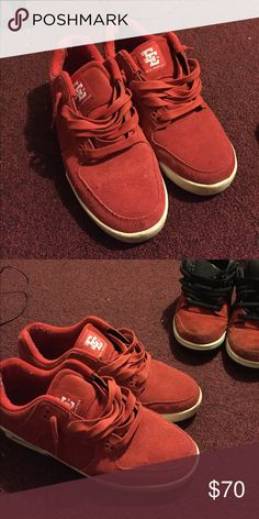 b0d172c81686 💥💥RED SUPRA SNEAKERS💥💥 Red   White - 100% Authentic - barely