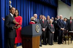 """Obama jokes with Michelle after she says Dr. Jill Biden is her """"favorite person in the room."""""""