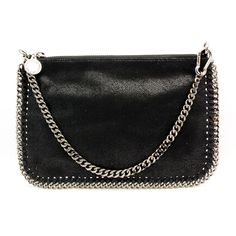 "Stella McCartney ""272540"" Black Chain Small Shoulderbag"