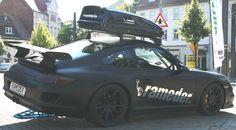 Porsche 911 mit Rameder Dachbox Roof Box, Porsche 911, Boxes, Vehicles, Car, Sports, Hs Sports, Crates, Automobile