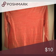 Maternity top Salmon pink heather color. Really cute top with 3/4 sleeves. GAP Tops Tees - Long Sleeve