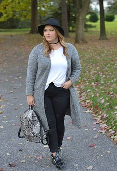 Casual Plus Size Winter Outfits You Have To Try
