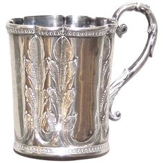 American Coin Silver Child's Mug, 1850