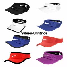 viseira nike feather light - corrida caminhada running tênis
