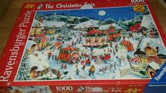 1000 #piece jigsaw puzzle #ravensburger the #christmas fair ltd edtion, View more on the LINK: http://www.zeppy.io/product/gb/2/252256048313/