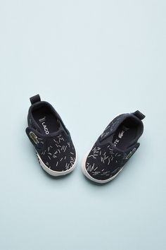 Little Lacoste Kid Shoes, Baby Shoes, Shoe Shop, White Shoes, Lacoste, Navy And White, Cool Kids, Trainers, Slip On