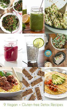 9 Delicious Vegan and Gluten Free Detox Recipes