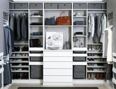 Looking to design a walk-in closet in your home? Let California Closets design a premium closet solution that matches your style, storage needs and budget.