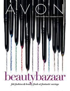 New Avon Catalog Campaign 22 - View Avon beauty brochure online at ThinkBeautyToday.com #AvonCatalog #AvonBrochure #AvonCampaign22 #Avon