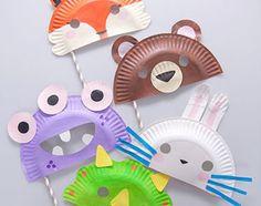 Viele tolle Masken zum Basteln :)