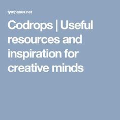 Codrops | Useful resources and inspiration for creative minds