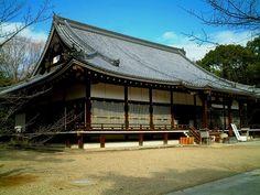 仁和寺(Niwaji,Kyoto):国宝金堂 (National treasure Gold Shrine)