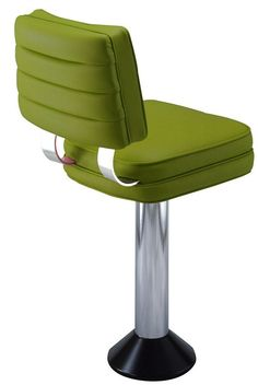 Our channel back soda fountain bar stool is made better than the classic stools of the and Come check out our line of floor mounted bar stools Diy Pallet Furniture, Retro Furniture, Cool Furniture, Furniture Design, Eames Chairs, Bar Chairs, Pink Chairs, Room Chairs, Restaurant Bar Stools