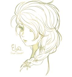 Disney Princess Drawings, Disney Princess Art, Disney Princesses, Arte Disney, Disney S, Disney Frozen, Queen Elsa, Ice Queen, Backpack Drawing