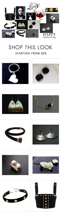 """""""Happy Valentine's Day"""" by anna-recycle ❤ liked on Polyvore featuring INC International Concepts, modern, rustic and vintage"""