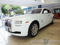 Buy or bid on this 2011 Rolls Royce Ghost, visit: http://fortlauderdale-south.ebizautos.com/detail-2011-rolls~royce-ghost-4dr_sdn-used-11068017.html Fort Lauderdale Collection South is proud to present this 2011 Rolls-Royce Ghost. It comes with all of the luxury, convenience and technology features that you would expect from a high-line luxury car. Only the finest materials are used to provide an environment that is both modern and well-founded in Rolls-Royce tradition.