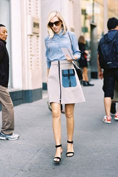 Your Guide To Fashion Week's Street-Style Stars | Jane Keltner de Valle