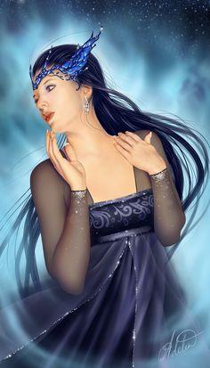 ☆ Daughter of the Night☆ Crystal Queen :¦: Artist Ulyana Regener ☆