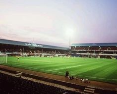 The Baseball Ground. Derby County's old ground.