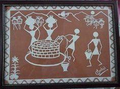 Warli Paintings - Warli Painting  by Ashish Mishra