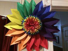 Rainbow Paper Flower