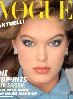 Renée Simonsen - Vogue Germany March 1983