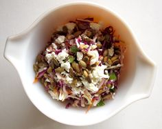 Sunshine Citrus Slaw by you can count on me, via Flickr