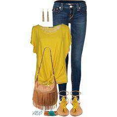 Yellow T-Shirt yellow