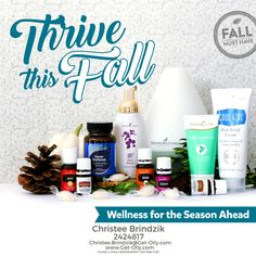 Dive on in to his board ya'll!  Learn a few ways you can really Thrive This Fall!   Christee Brindzik  Independent Distributor 2424817  Sign Up Here:   https://www.youngliving.com/vo/#/signup/start?site=US&sponsorid=2424817&enrollerid=2424817