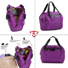 """Our best seller, the Sport Tote: cute, light weight, and comes with all the pockets and details you'd expect to have in your gym bag.   15% off in October (use code """"giveback"""" at checkout) - grab your new #nicebag through the website provided!"""