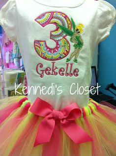Custom Girls Toddler Birthday TuTu and matching by KennedisCloset, $48.95