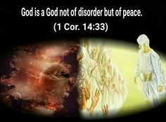 """Tuesday, May24God is a God not of disorder but of peace.—1Cor. 14:33.Jehovah, the Creator of the universe, does things in an organized manner. His first creation was his only-begotten spirit Son, who is called """"the Word"""" because he is God's principal spokesman. The Word has served Jehovah for ages, for the Bible states: """"In the beginning was the Word, and the Word was with God."""" A little over 2,000 years ago, God sent the Word to the earth, where he faithfully did his Father's will as the…"""