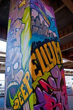Deep Ellum Street Art, Dallas, TX