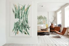 art. white floors