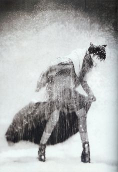Another awesome photo by Paolo Roversi ~ Blue