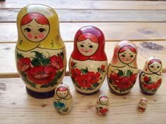 nesting dolls - I have one just like this that @Lynn Seidel got for me!