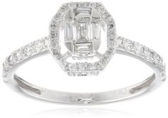 10k White Gold Composite Baguette Center Diamond Bridal Halo Ring (0.45 cttw, H-I Color, I1 Clarity), Size 6 Amazon Curated Collection,http://www.amazon.com/dp/B009C6YVKS/ref=cm_sw_r_pi_dp_DhJisb1GD7QK91Q9