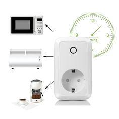 Mejor Precio Online De Smart Home Enchufe Inteligente Inalámbrico EUR 15,19 interruptor inteligente por control