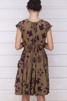 alabama chanin: tracy reese dress : DIY