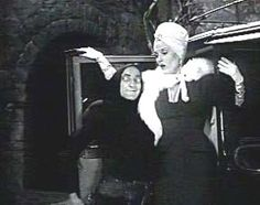 Marty Feldman and Madeline Kahn in Young Frankenstein (or is that Fronkenshteen?)