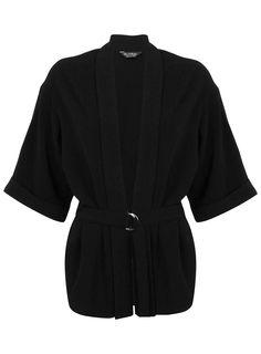 Black D Ring Jacket