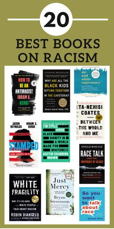 20+ Non-Fiction Books on Racism #racism #reading #whattoread Book Suggestions, Book Recommendations, Reading Lists, Book Lists, Good Books, My Books, Teen Books, Best Non Fiction Books, Political Books