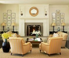 Adorable living room layouts ideas with fireplace (56)