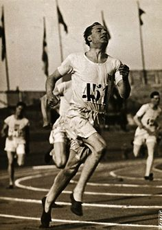 """Eric Lidell famously refused to run on Sunday, explaining that it was the Lord's day.  His experiences are part of the movie """"Chariots of Fire."""""""