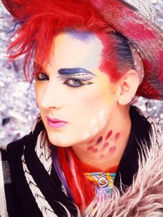 Boy George from Culture Club, London, Credit: Mike Prior/Redferns/Getty Cyndi Lauper, Cindy Lauper 80s, Boy George, George Michael, Michael Jackson, Popular 80s Songs, Culture Club, Pop Culture, Youth Culture
