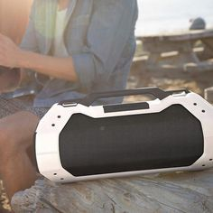 I love the rugged design of this awesome Bluetooth speaker from @bravenproducts. It is a great looking speaker. #summer #design #beach #music #audio #bluetooth #outdoors #recreation #explore